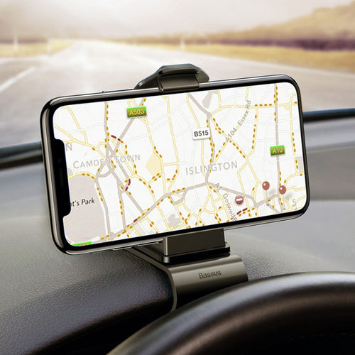 Baseus Mouth Horizontal Dashboard Clamp / Car Mount Holder Clip for Mobile Phone